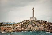 picture of manga  - Cabo de Palos lighthouse on La Manga Murcia Spain - JPG