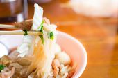 foto of thai food  - noodle of thai food style  - JPG