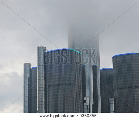 Detroit Rencen In Cloud