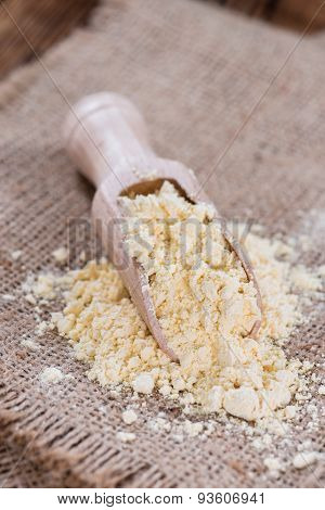 Portion Of Chick Pea Flour