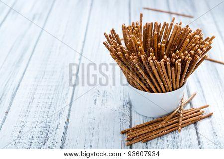 Salt Sticks (close-up Shot)