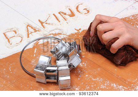 Kneading Dough For Cookies And Accessories