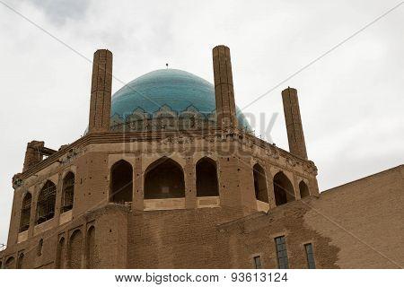 Oljeitu mausoleum, Soltaniyeh