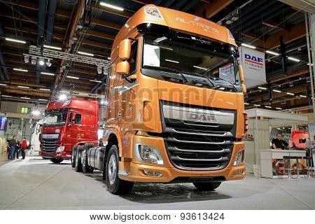 Daf XF 510 Euro 6 Truck Tractor On Display