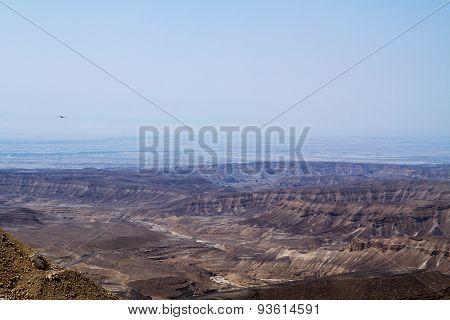 Dead Sea Cliffs .
