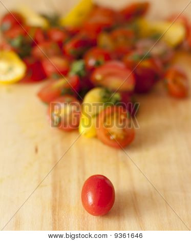 One Tomato, Ready To Join The Team