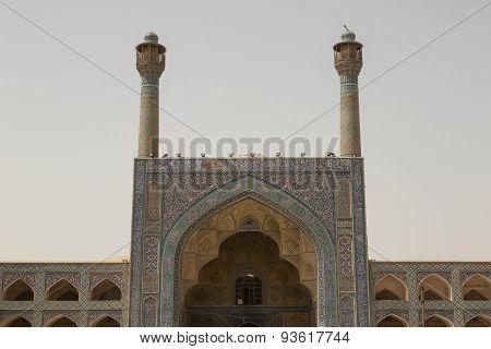 Jemah mosque, Isfahan, Iran