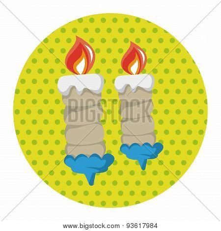 Birthday Candle Theme Elements