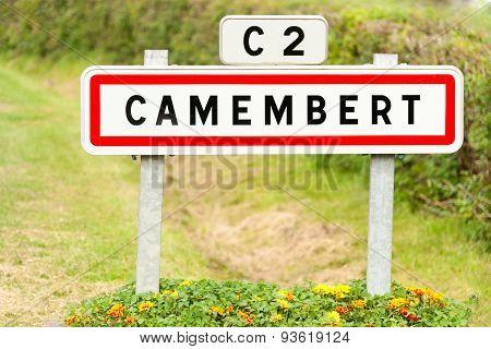 Camembert village