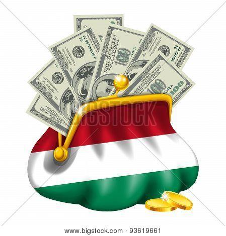Economics and business purse Hungary