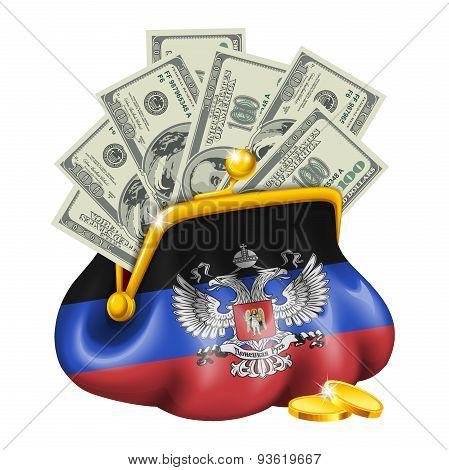 Economics and business purse Donetsk People's Republic
