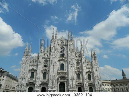 Milano Dome ( Duomo ) From The Center Square
