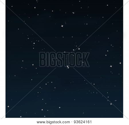 Starry Night - Vector