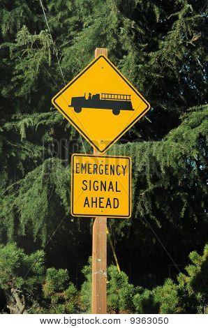 Emergency Signal Ahead