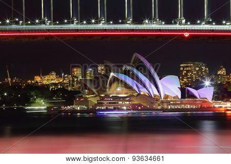 Sydney Opera House During Vivid Sydney
