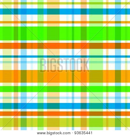 Vector plaid seamless pattern. Eps10