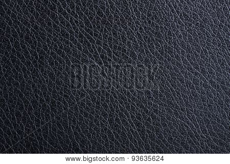 black leather background, natural texture