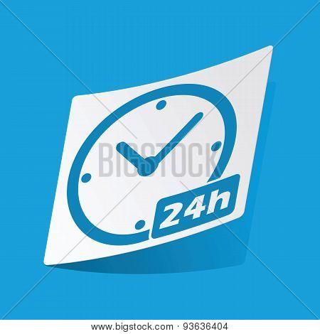 24h sticker