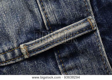 Belt Loop of A Jeans