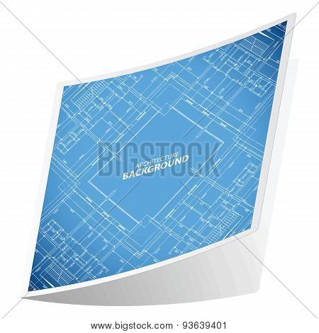 Architecture background sticker 1