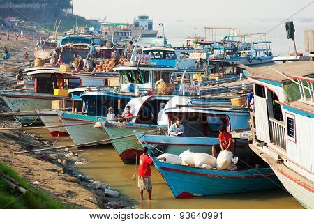 Ayeyarwady River Harbour