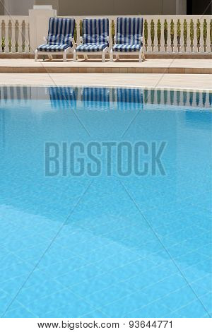 Detail Of Open Air Swimming Pool