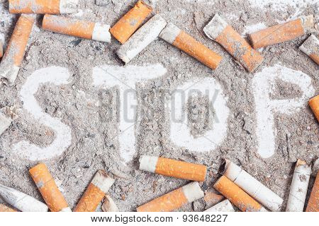 Quit Smoking Background