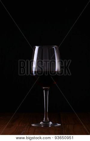 Beaker Of Red Wine