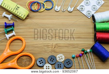 Sewing Kit For Needle Work