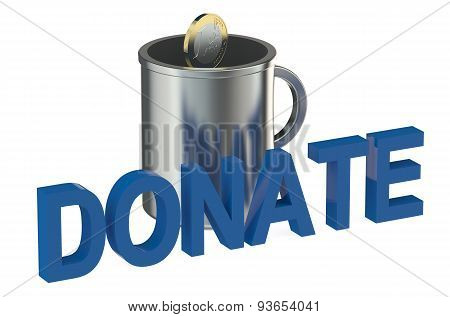 Cup Donate Concept