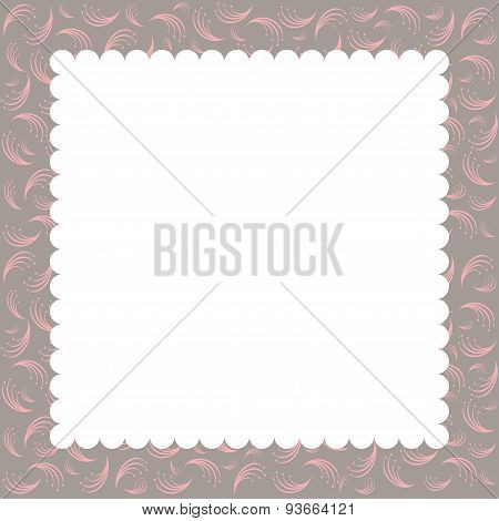 Vector Greeting Card Template.