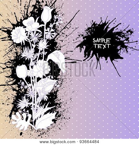Abstract backdrop design