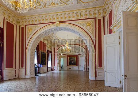 Interior Of Engineer's Castle (mikhailovsky Castle), Saint-petersburg