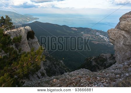 mountain in Crimea