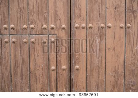 Riveted Door