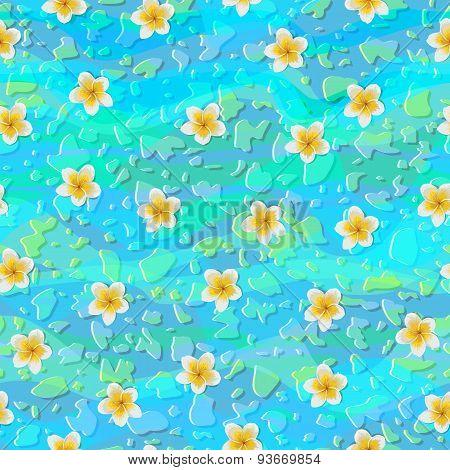 Tropical Flowers Plumeria