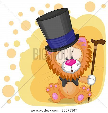 Lion In Hat