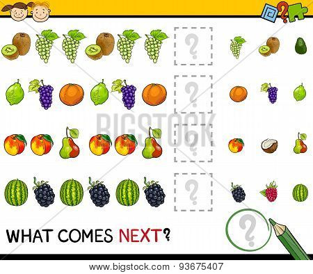 Educational Game with Fruits