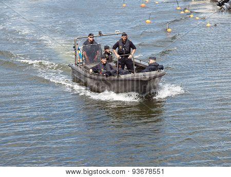 Water patrol.