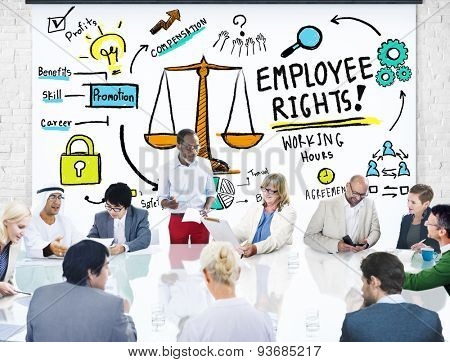 Employee Rights Employment Equality Job Business Meeting Concept