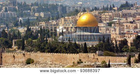 Temple Mount In Jerusalem - Israel