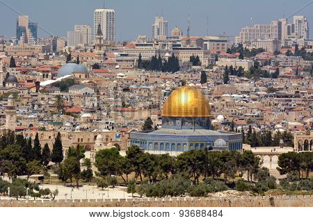 Temple Mount In Jerusalem - Israel