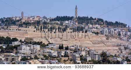 Urban Landscape View Of Jerusalem - Israel