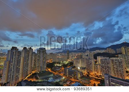East Of Kowloon Side In Hong Kong