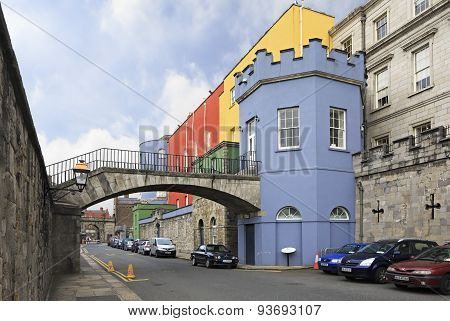 Dublin Castle - historic landmark of Irelands capital
