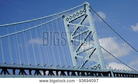 Benjamin Franklin Bridge in Philadelphia