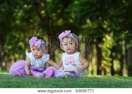 Asian Children Girls