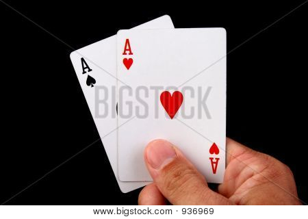 Two Aces Hand