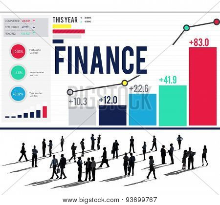 Finanance Accounting Banking Money Concept
