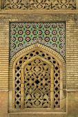 pic of tehran  - decorative panels in the 19th century Golestan palace in Tehran - JPG